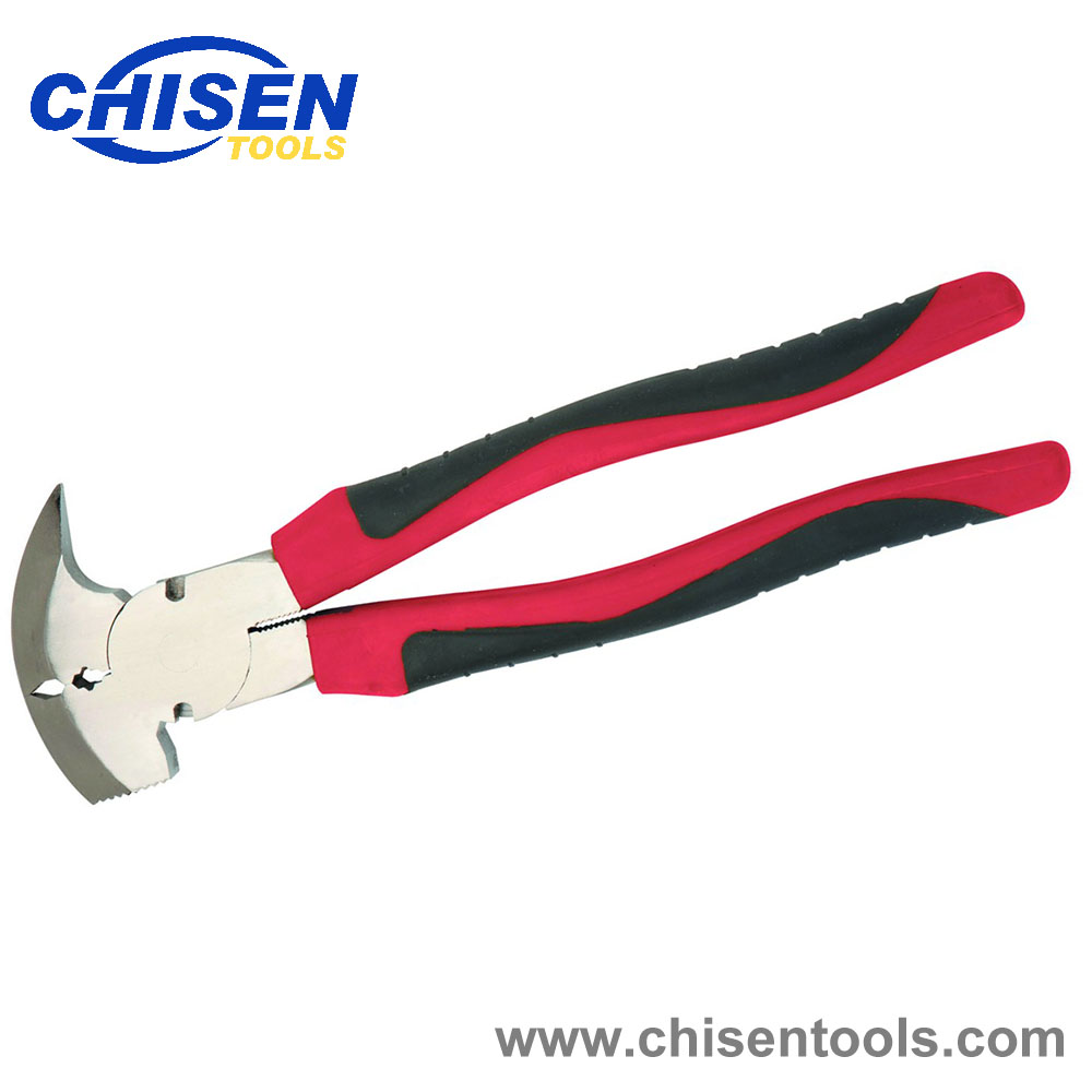 Fence Pliers with TPR Gtrips