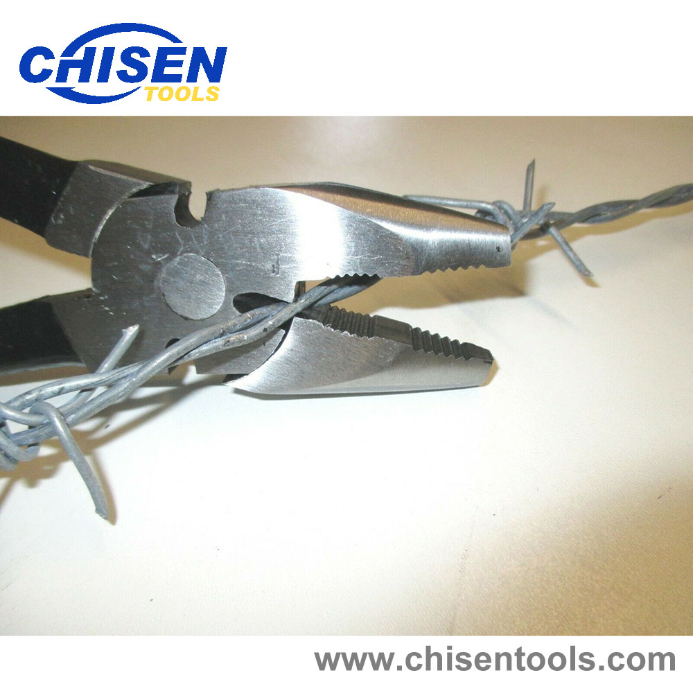 Utica style Round Nose Fencing Pliers Cutting Chain Link