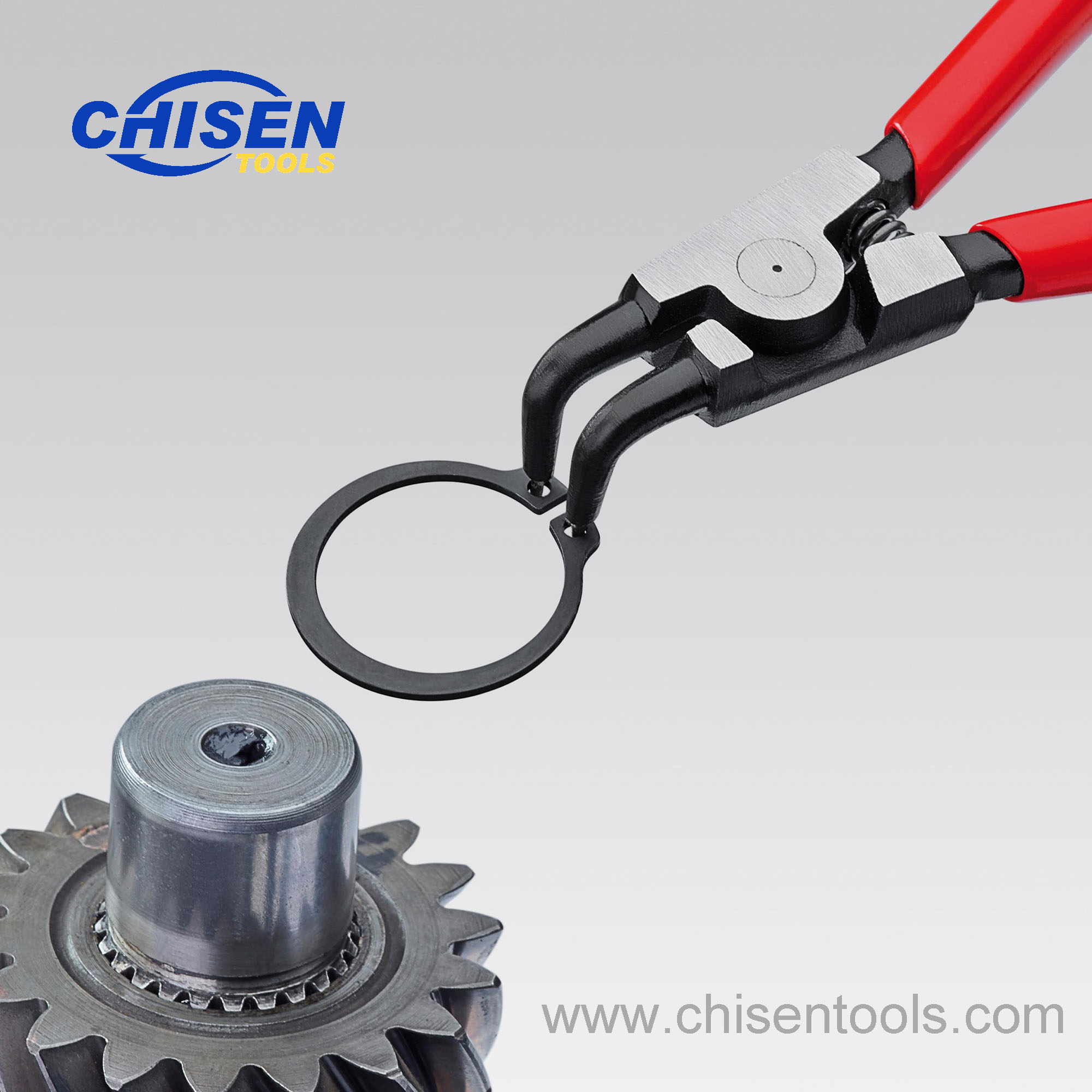 Useage of Industrial Grade External Snap Ring Pliers