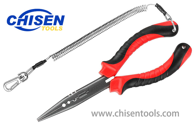 """7/"""" Needle Nose Pliers Fishing Line Cutting Pliers Fishing Crimping Pliers"""