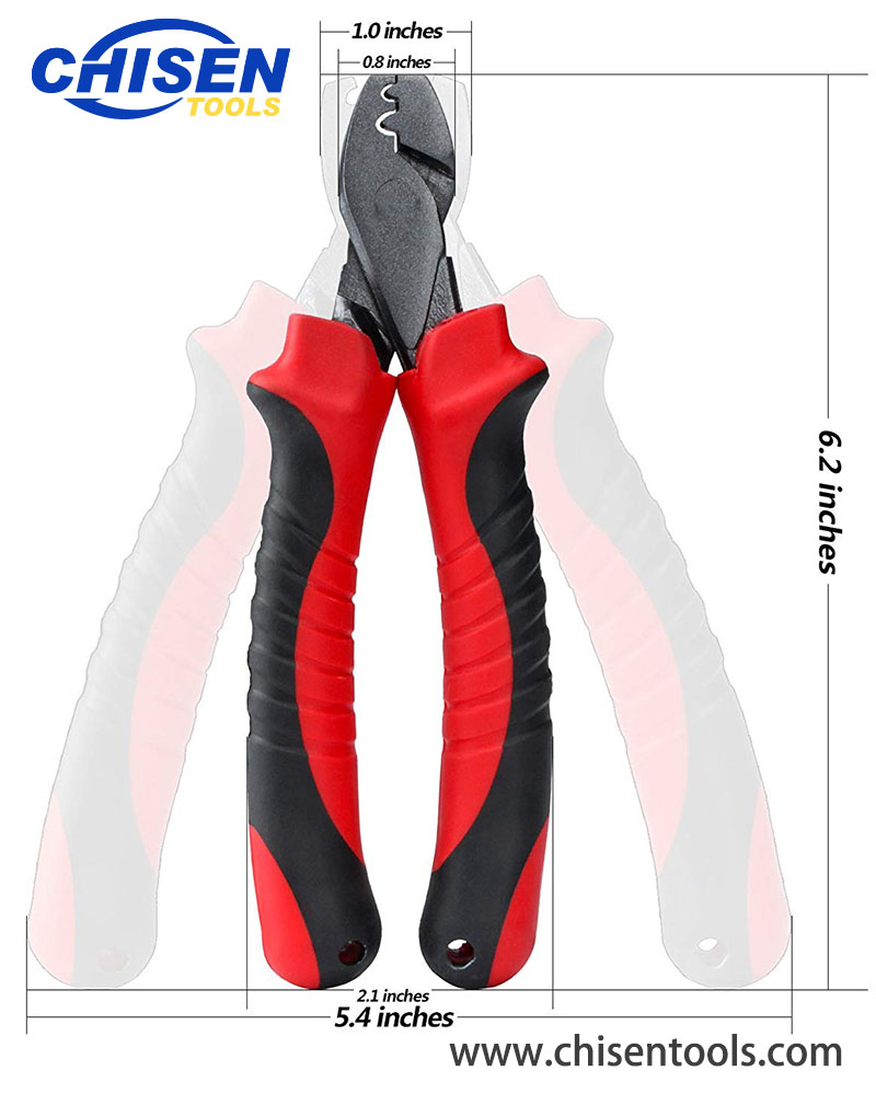 Fishing Crimping Pliers' Dimension
