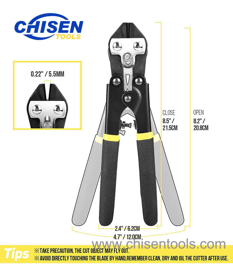 Fishing Hook & Wire Cutter's Dimensiton