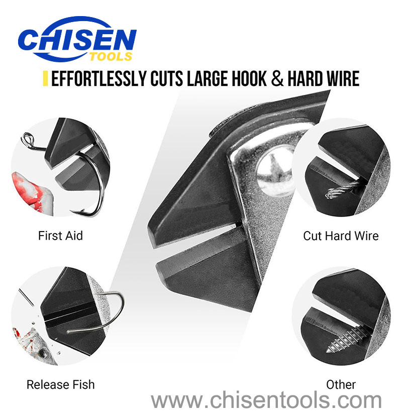 Fishing Hook & Wire Cutter's Function