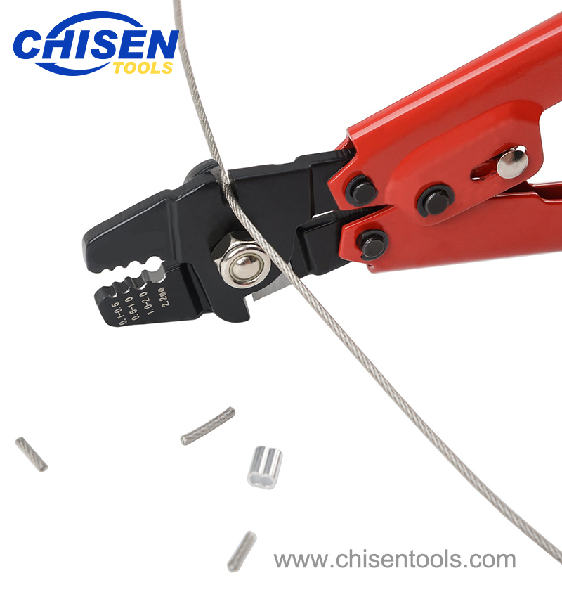 Heavy Duty Fishing Hand Crimping Pliers Cutting Wire Rope