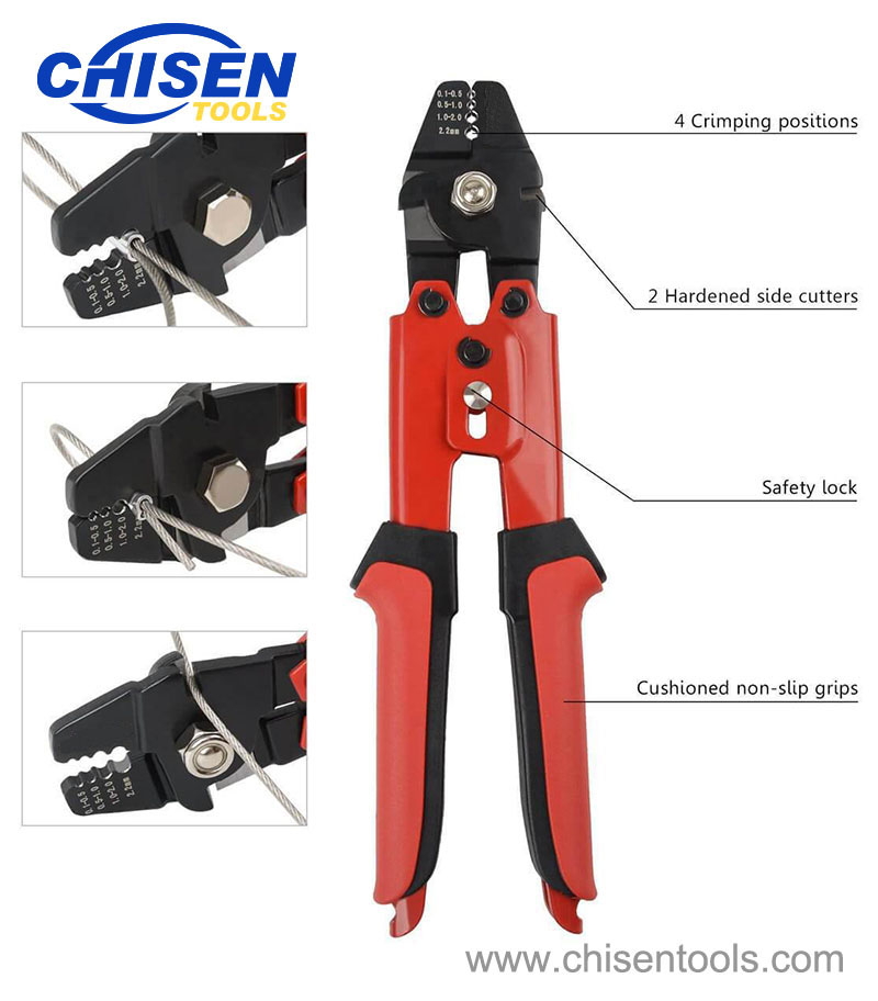 Heavy Duty Fishing Hand Crimping Pliers' Feature