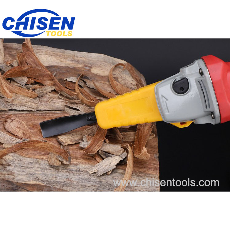 Electric Power Wood Carving Chisel Set for Angle Grinder, Carving