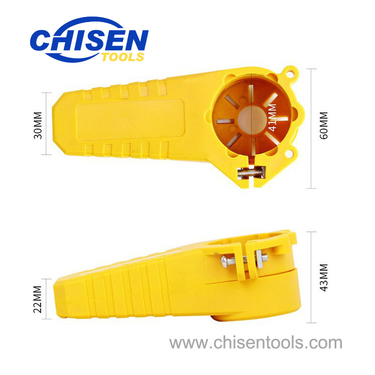 Dimension of Electric Power Wood Carving Chisel Set for Angle Grinder