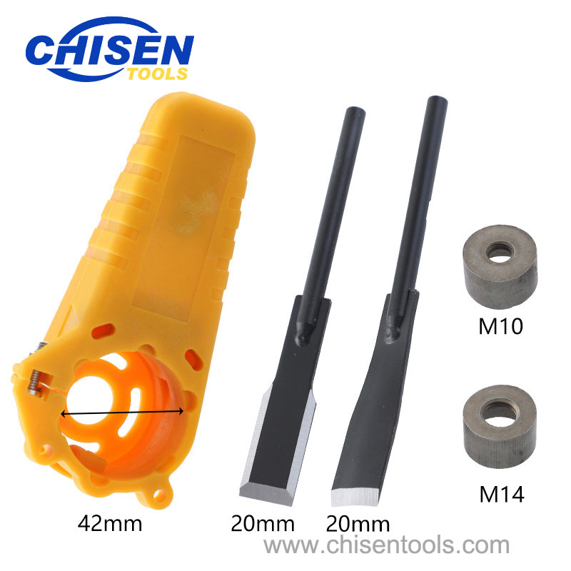Parts of Electric Power Wood Carving Chisel Set for Angle Grinder