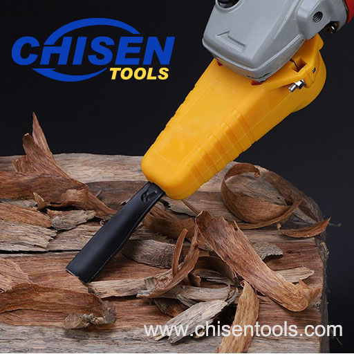 Electric Power Wood Carving Chisel Set for Angle Grinder, Woodworking